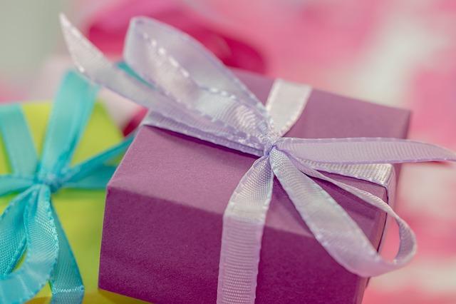 dárky v Vánocům